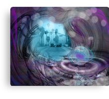 From One World Into Another Canvas Print