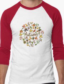 Bright autumn Men's Baseball ¾ T-Shirt