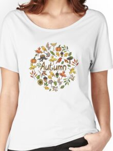 Bright autumn Women's Relaxed Fit T-Shirt