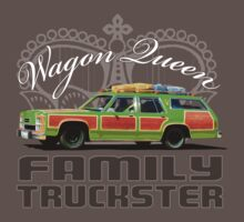 Wagon Queen Family Truckster One Piece - Short Sleeve