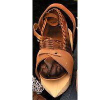 Medieval shoe fashion Photographic Print