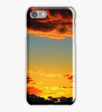 HDR Sunset iPhone Case/Skin