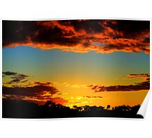 HDR Sunset Poster