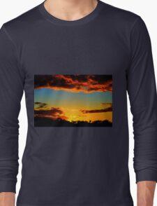 HDR Sunset Long Sleeve T-Shirt