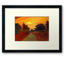 Beauty of Sunrise Framed Print