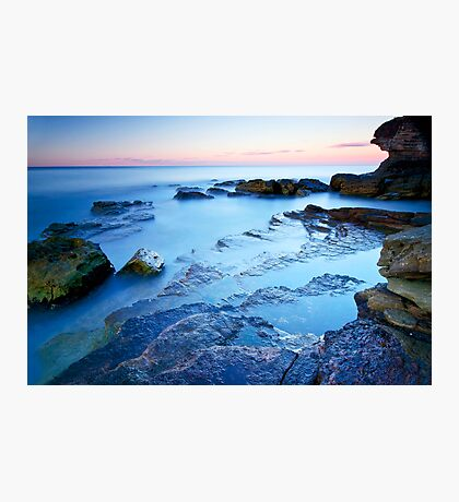 Dusk at Warriewood Photographic Print