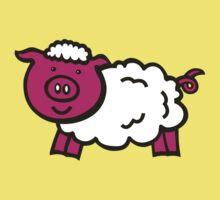 Piggysheep design for clothing Kids Tee