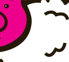 Piggysheep design for clothing Sticker