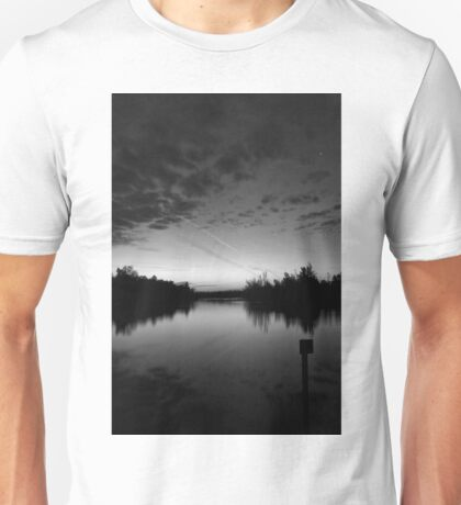 the sun will rise over these old waters Unisex T-Shirt