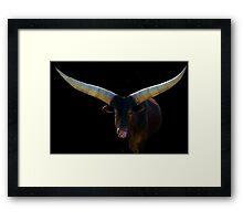 The Cattle of Kings Framed Print