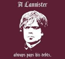 Tyrion Lannister - A Lannister always pays his debts by themutato