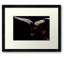 The Cattle of Kings ~ 2 Framed Print