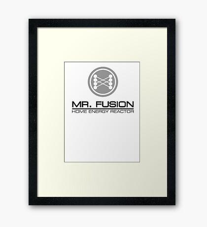 Mr. Fusion Framed Print
