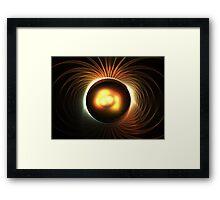 Magnetic Earth Framed Print