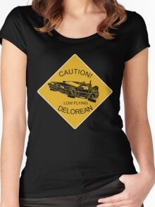Low Flying Women's Fitted Scoop T-Shirt