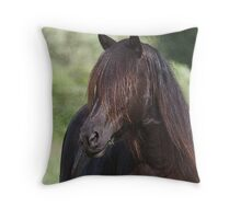 A Touch Of Grass Throw Pillow