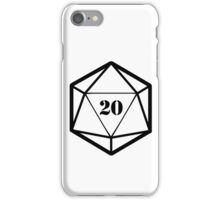 20 Dice iPhone Case/Skin