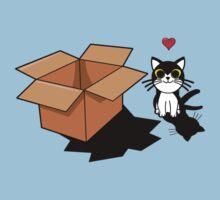 Cat & Box by Namueh