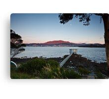Starters Box, Bellerive, Tasmania Canvas Print