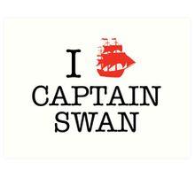 I Ship Captain Swan Art Print