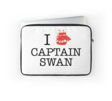 I Ship Captain Swan Laptop Sleeve