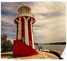 Hornby lighthouse, Sydney Poster