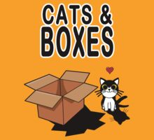 Cats & Boxes by Namueh
