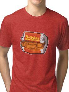 Pixel Nuggies Tri-blend T-Shirt