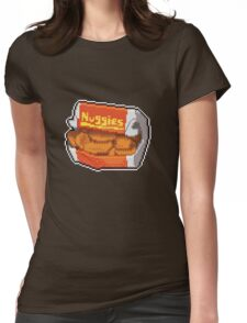 Pixel Nuggies Womens Fitted T-Shirt