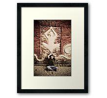 Zen Man Framed Print
