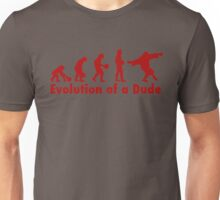 The Dude evolution red Unisex T-Shirt