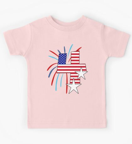 The Big 4 (4th of July tee) Kids Tee