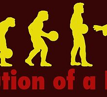 Evolution of a dude Yellow by Vintagestuff