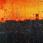 Verrazano Raindrops by Mistyarts