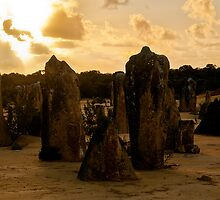 110620 Nambung National Park Pinnacles Sunrise 11 by Jaxybelle
