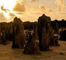 110620 Nambung National Park Pinnacles Sunrise 11 by Jaxybelle