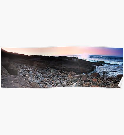 Crowdy Rocks Panorama Poster