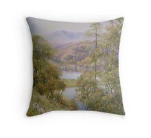Tarn Hows, Cumbria, UK Throw Pillow