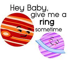 Cheesy Flirting with Jupiter and Saturn by NAB92