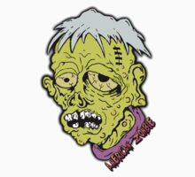 American Sad Zombie Head  by americanzombie