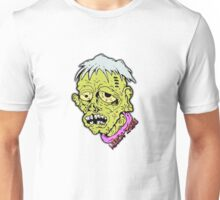 American Sad Zombie Head  Unisex T-Shirt