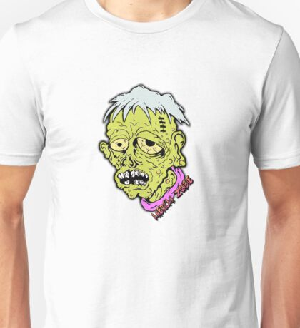 American Sad Zombie Head  Unisex T-Shirt