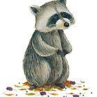 Raccoon by elisaferreira