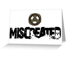 Miscreated Design 1 White (Official) Greeting Card