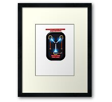 Capacitor Drive Framed Print