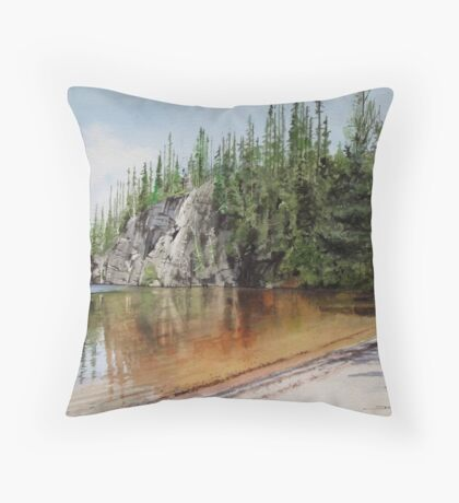 Sox Lake Throw Pillow