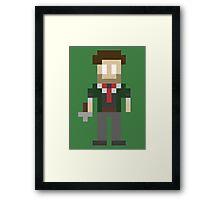 8-Bit Booker Dewitt Framed Print