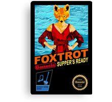 Foxtrot 8-bit Canvas Print