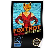 Foxtrot 8-bit Poster