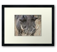 So You Think I Act Like A Pig, Huh? Framed Print